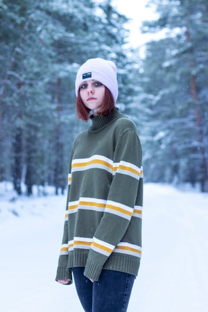 Фото. Винтажный свитер для дочери из Испанского хлопка.  Автор работы - Далиса