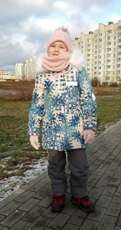Фото. Зимний комплект. Автор работы - AYouchka
