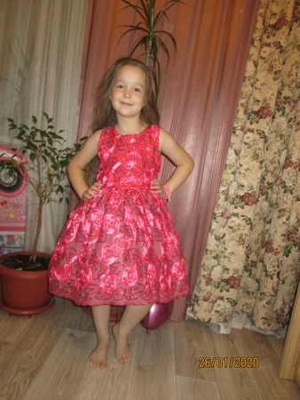 Фото. Нарядное платье. Автор работы - Бебичек