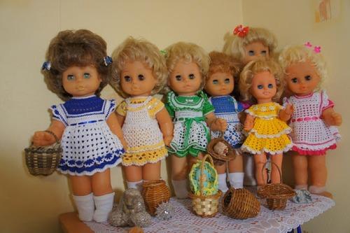 Фото. Вяжем для кукол. Автор работы - Просто Женщина