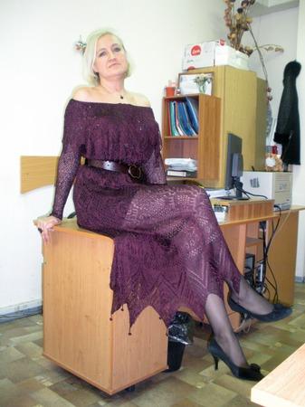 Фото. Платье от Alexander McQueen. Автор работы - Cbeta