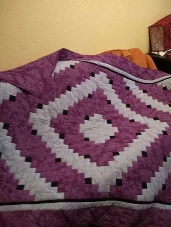 Фото. Лоскутное одеяло.  Автор работы - Lanaswet