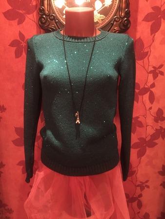 Фото. Пуловер, машинное вязание. Автор работы - dfghjkl