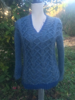 Фото. Пуловер для внука. Автор работы - Gasaz