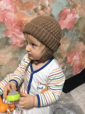 Фото. Шапочка сыну из альпаки. Автор работы - Alexa_Sky