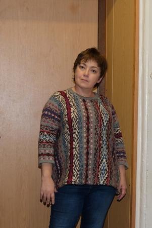 """Фото. Пуловер, еще одно """"перуанское дыхание.   Автор работы - elli_ell"""