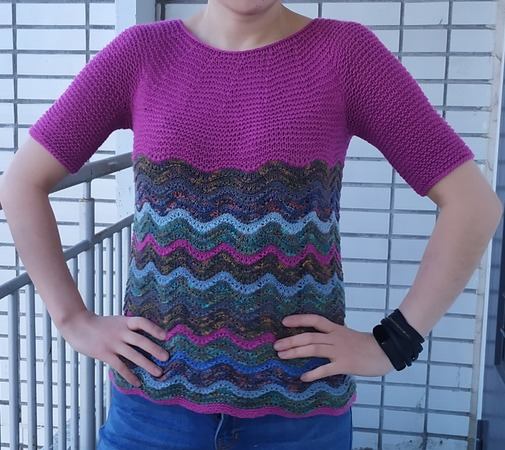 Фото. Пуловер.   Автор работы - dorjo