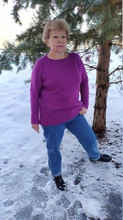 Фото. Свитер Voyage sweater от Людочки Бабинцевой. Автор работы - Багрянец осени