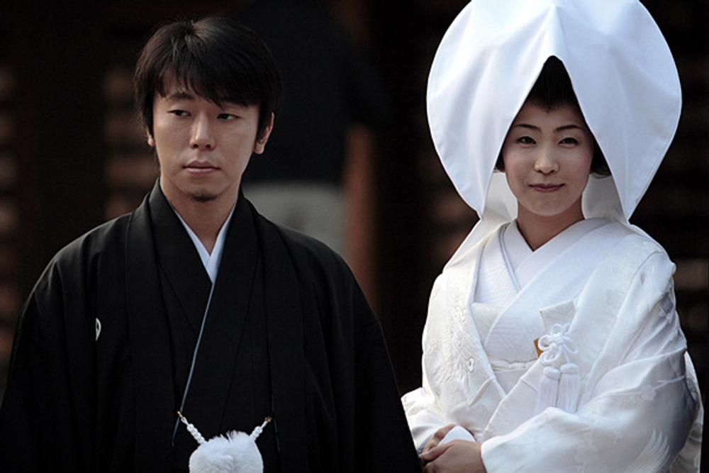 Фото. 4. Японская свадьба.