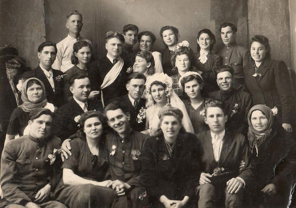 Фото. 15. Свадьба на Кубани. 1946 год.