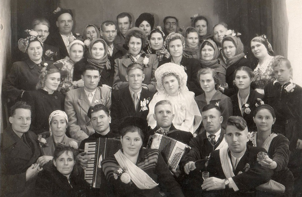 Фото. 6. Свадьба на Кубани. 50-е гг. ХХ в.