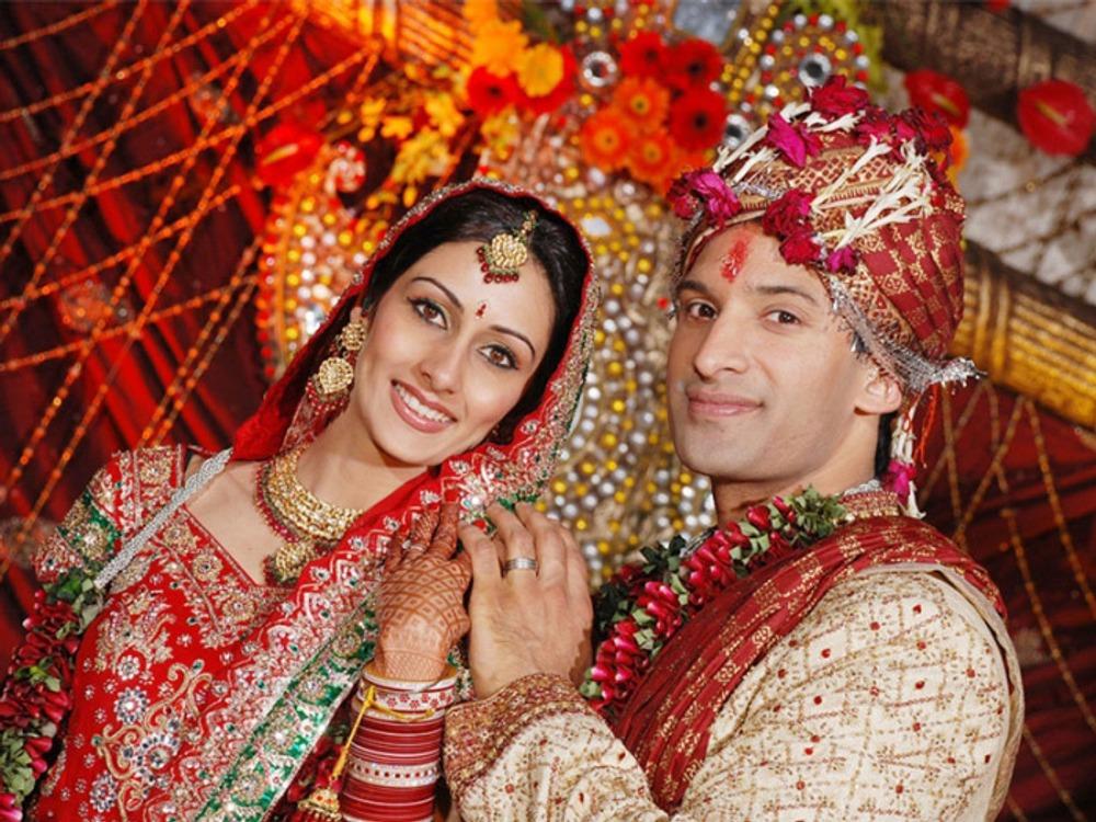Фото. 3. Индийская свадьба.