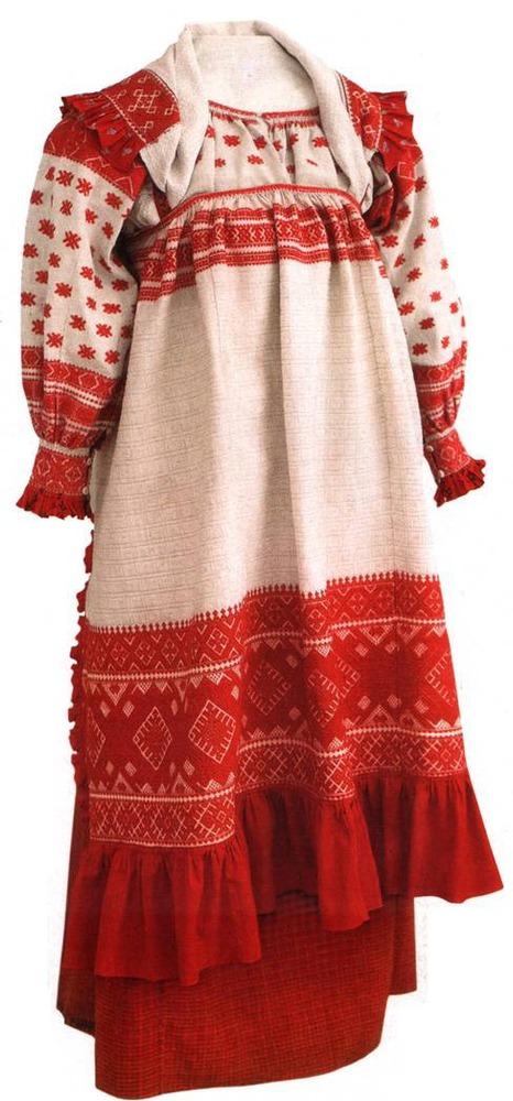 Фото. 41. Русский народный костюм.