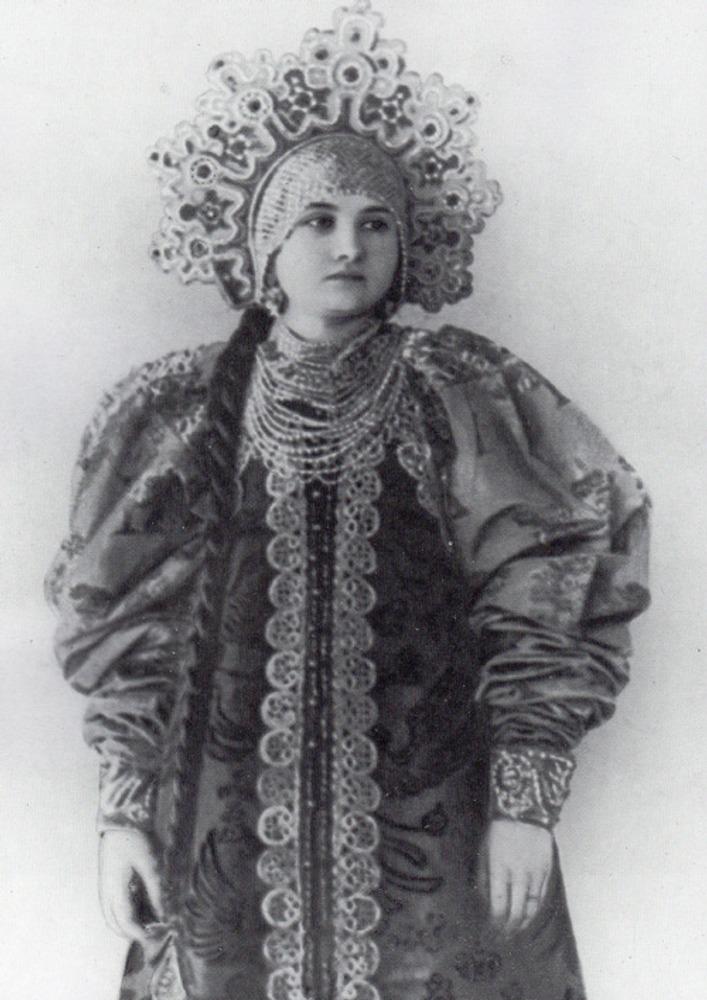 Фото. 38. Русский народный костюм.