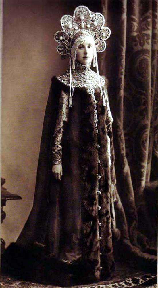 Фото. 46. Мария Николаевна Лопухина, урожденная Клейнмихель.