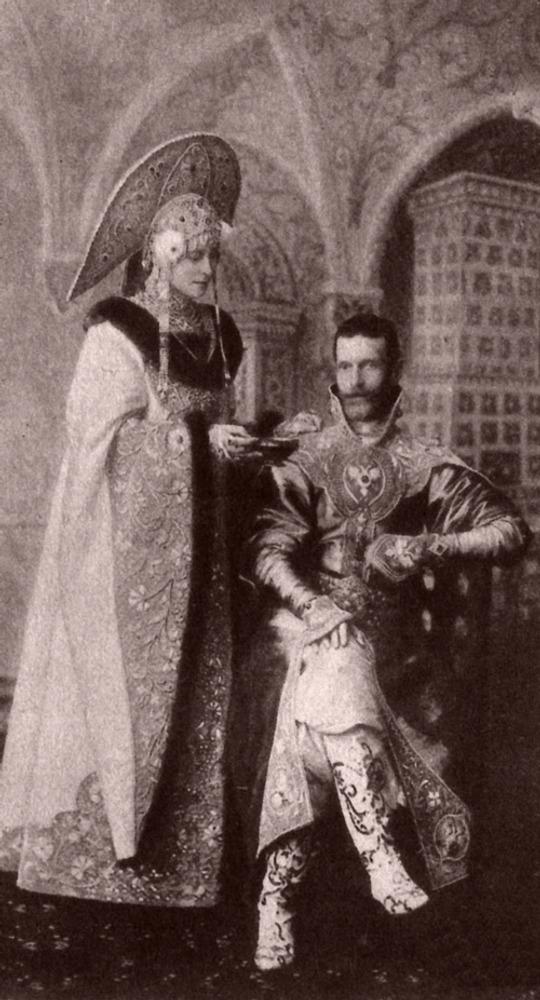 Фото. 47. Великая  княгиня Елизавета Федоровна и князь Сергей Александрович.