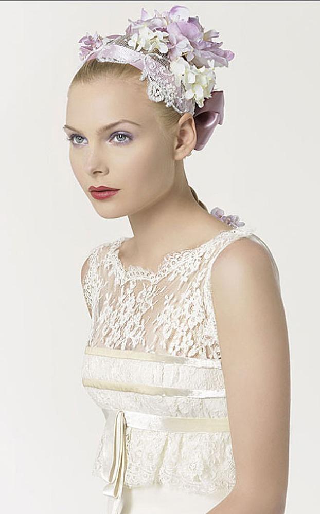 Фото. 58. Свадебное платье. Кристиан Лакруа для Розы Клары (Италия).