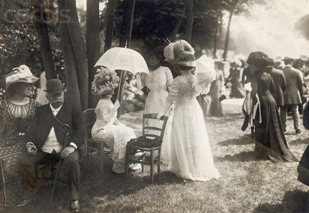 English Garden Party, 1900s
