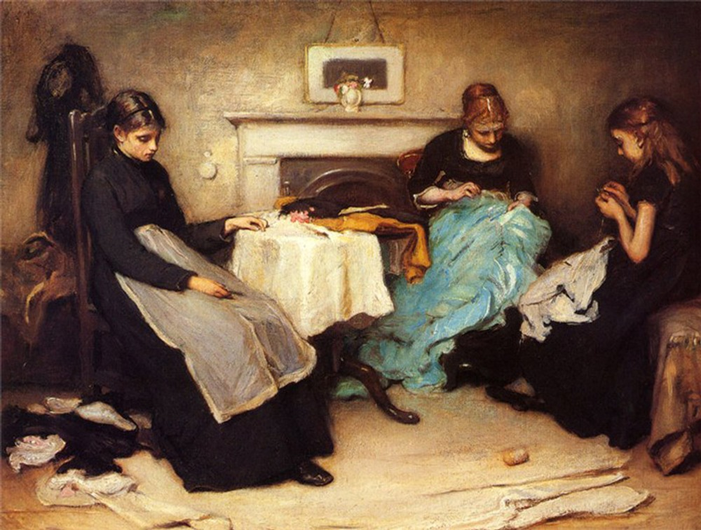 "Holl Frank ""The Song Of The Shirt"", 1874"
