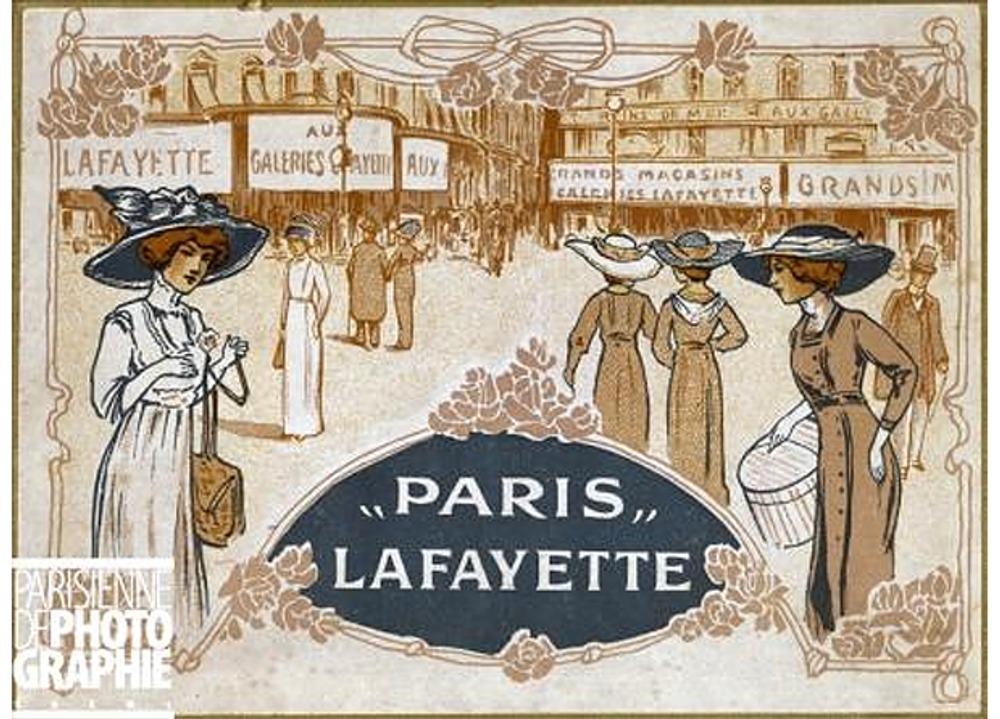 """Рекламный плакат """"Галери Лафайет"""", 1900 г."""