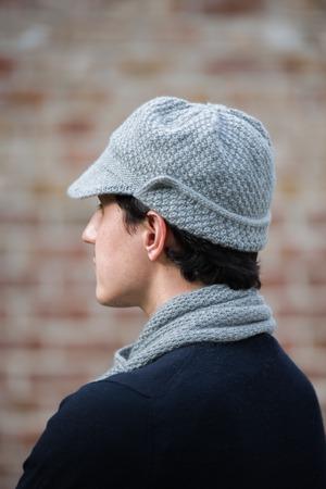 Фото. Комплект для зятя - кепка и шарф. Автор работы - Best Fit