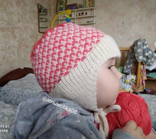 Фото. Детская шапочка.   Автор работы - lenulechka08