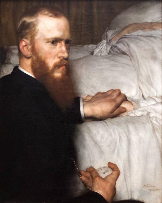 Фото. Lawrence Alma-Tadema (Dutcn born-British, 1836-1912) Portrait of Dr. Washington Epps (My Doctor). 1885 г.