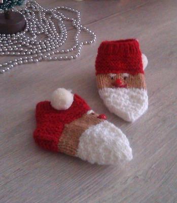 Фото. Украсить носки можно по-разному. Новогодние носочки.  Автор работы - НаталияС