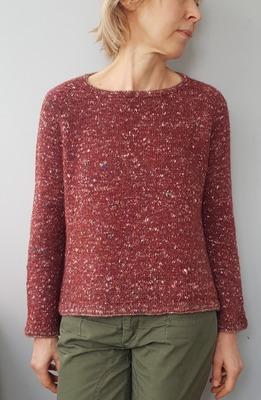 Фото. Пуловер из Pecci Filati Smarties.   Автор работы - ТаняТ