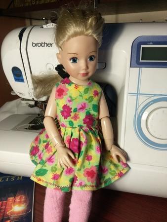 Фото. Платье для куклы. Автор работы - Radostnaya