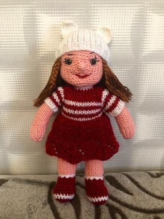 Фото. Кукла для внучки. Автор работы - ledi ti