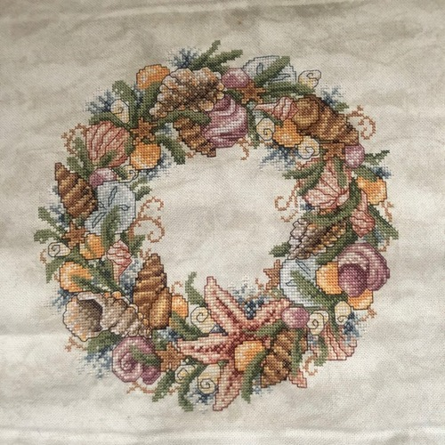 "Фото. Charles Craft ""Seashell Wreath"". Автор работы - Foresight"