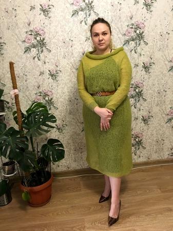 Фото. Платье-паутинка для дочери.   Автор работы - Alexandrovna_N