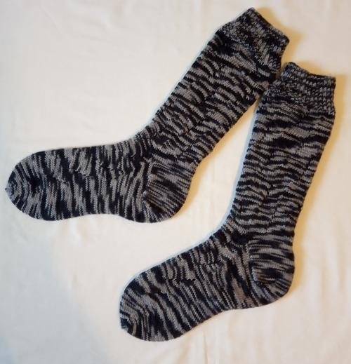 Фото. Носки Sunday Swing Socks by Kristel Nyberg.   Автор работы - Vlasta