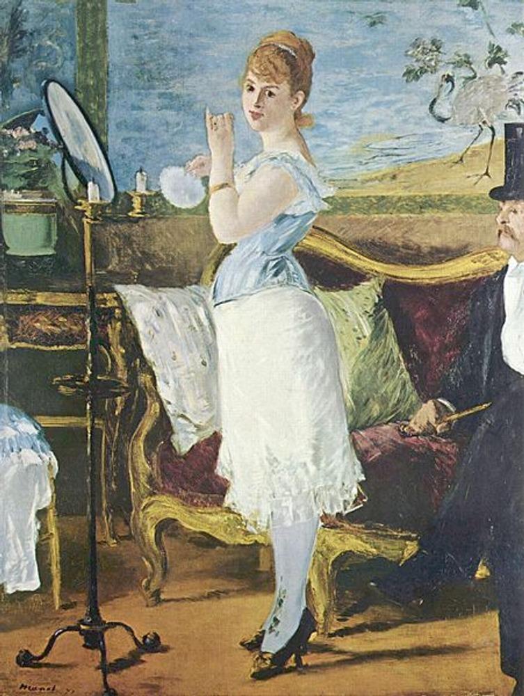 """Фото. Эдуард Мане, """"Нана"""", 1877."""