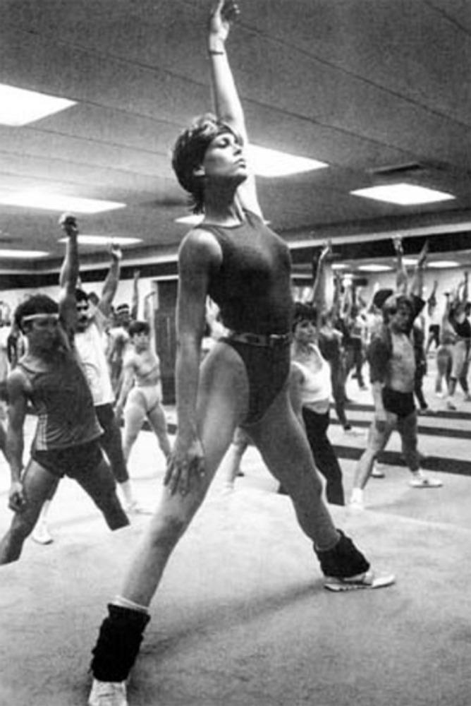 Фото. Джимми Ли Кертис в к/ф  Perfect. 1970-х.