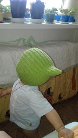 Фото. Детская шапочка из мериноса.  Автор работы - Pampulya
