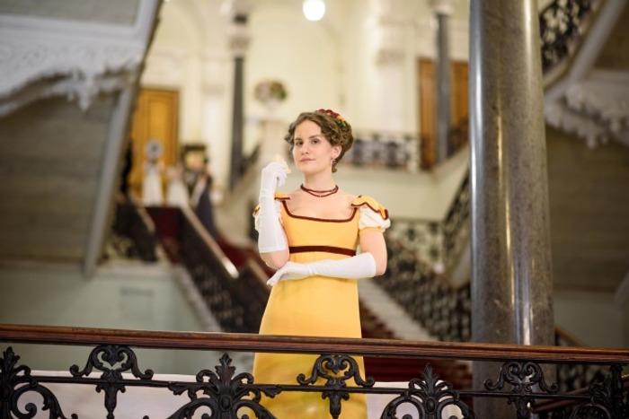 Фото. Бальное платье 1809-1810 год.   Автор работы - Alastra
