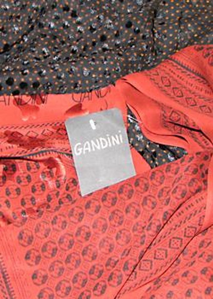 Фото. Ткани с логотипом Gandini