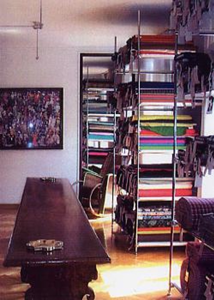 Фото. Одна из комнат в фамильном особняке Гандини в Милане