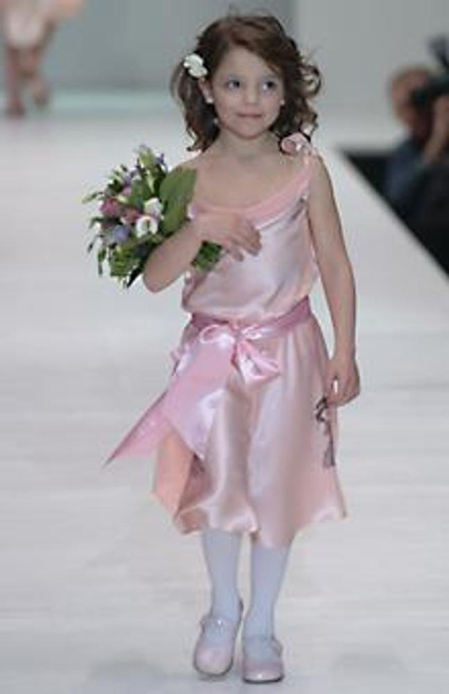 Фото. Платье из натурального шелка. Коллекция Елены Супрун, осень-зима 2005/2006