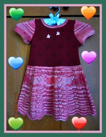 Фото. Платье внучке. Автор работы - МамуляГаля
