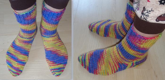 Фото. Носочки из секционки. Автор работы - Ladynelly