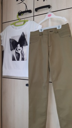 Фото. Топ и брюки. Автор работы - IvlevaAnna
