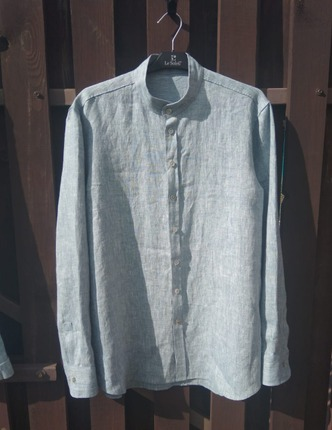 Фото. Рубашка из льна.  Автор работы - leol123