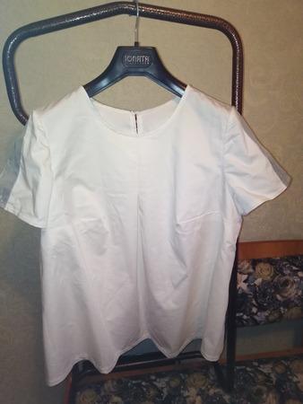 Фото. Белая блузка.  Автор работы - Кисуля74