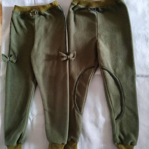 Фото. Внучкам штанишки из остатков футера. Автор работы - galina6950
