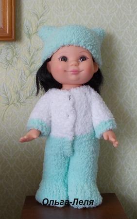 """Фото. Костюм для куклы """"Плюша"""".  Автор работы - Ольга-Леля"""