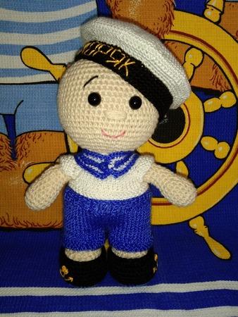 Фото. Пупс-морячок.