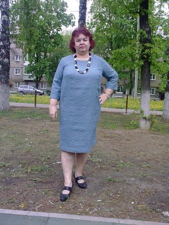 """Фото. Платье-коконом """"Ирмихална"""".  Автор работы - Nadyne"""